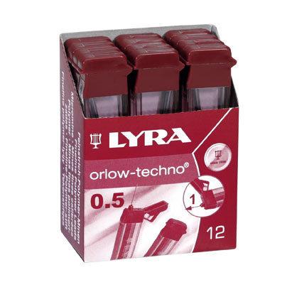Minas lyra 2b 05mm orlow techno tubo 12 ud