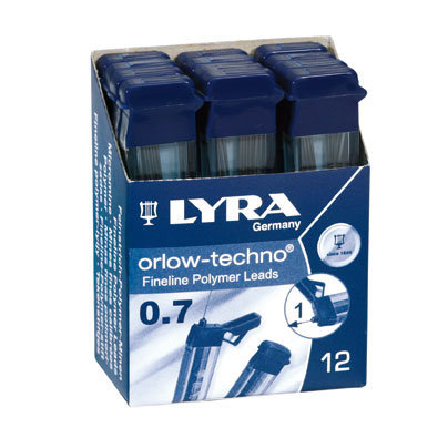 Minas lyra 2b 07mm orlow techno tubo 12 ud