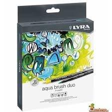 Rotulador lyra aqua brush duo 36 colores surtidos