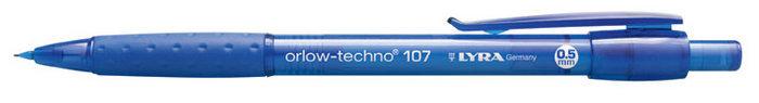Portaminas 05mm lyra orlow techno 107 caja 10 ud