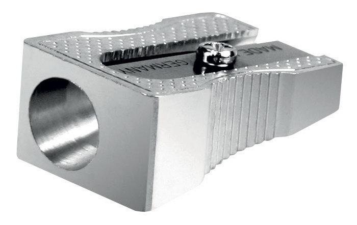 Sacapuntas lyra metalico 1 agujeroero caja 24 ud