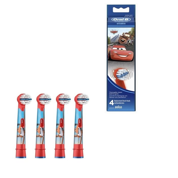 Recambios cabezales oral-b stages eb10 4 uds. cars