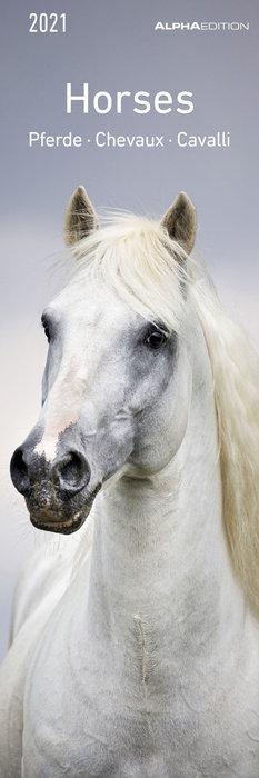 Calendario 2021 horses new 5,5x16,5