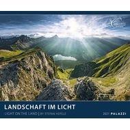 Calendario 2021 light on the land new 60x50