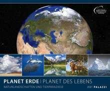Calendario 2021 planet earth new 60x50