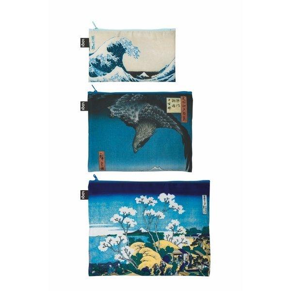 Bolsa zip museum hokusai