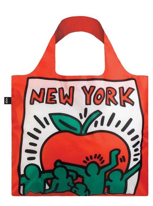 Bolsa plegable keith haring new york