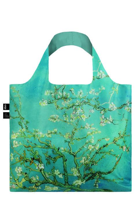 Bolsa plegable van gogh almendro en flor recycled