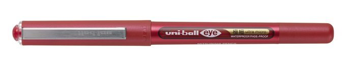 Boligrafo uni-ball eye ultra micro 0,38 mm rojo
