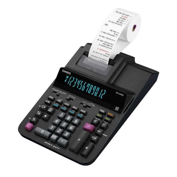 Calculadora con impresora dr-420re