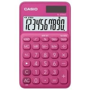 Calculadora casio bolsillo sl310uc fucsia