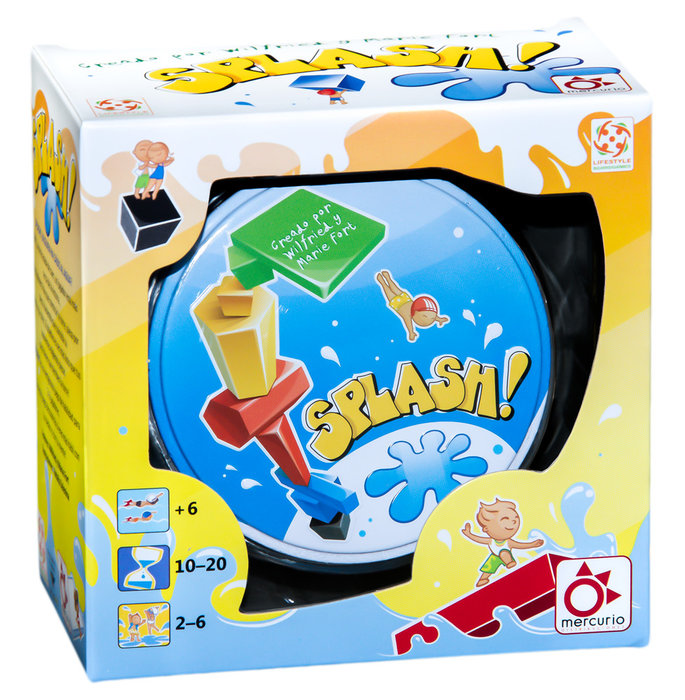 Juego educativo splash