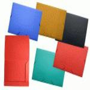 Carpeta gomas y solapa a4 pp opaca colores surtidos