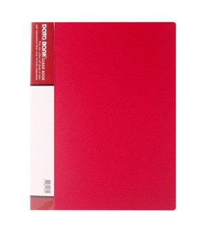 Carpeta 20 fundas a4 mt20-2 rojo