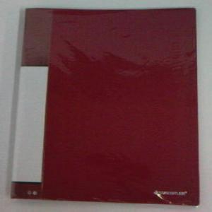 Carpeta 30 fundas a4 mt30-2 rojo