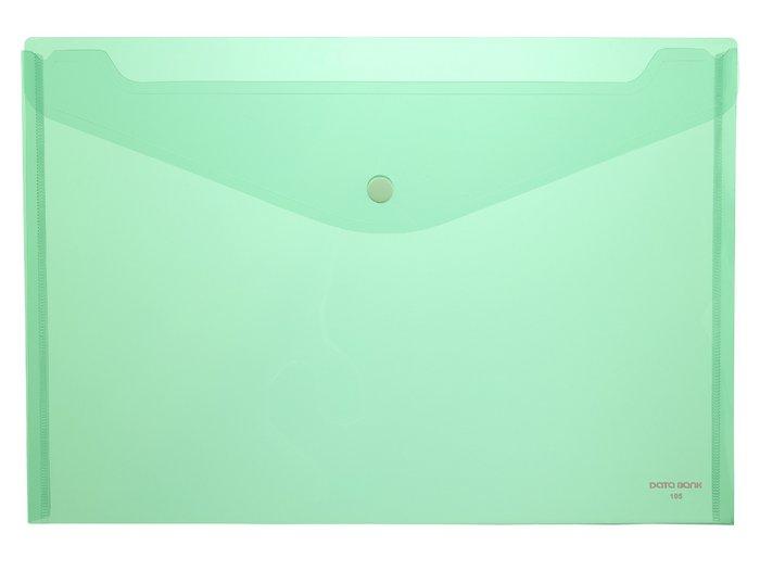 Carpeta pp sobre a4 1 broche 105 verde