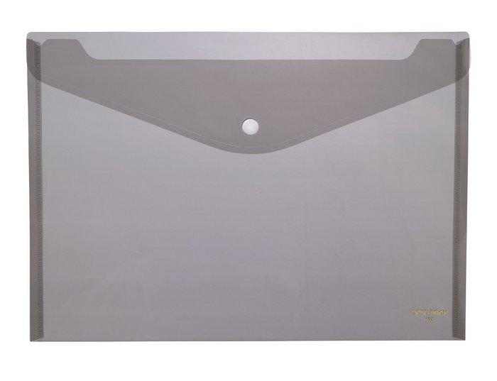 Carpeta pp sobre a4 1 broche 105 ahumado