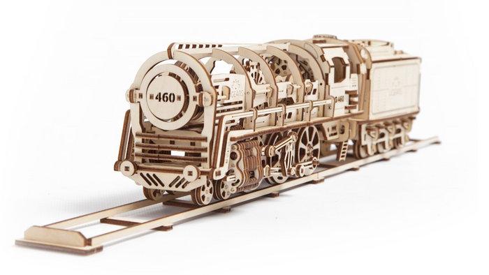 Maqueta locomotora de vapor 460