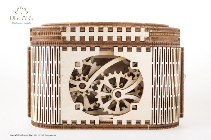 Maqueta caja del tesoro