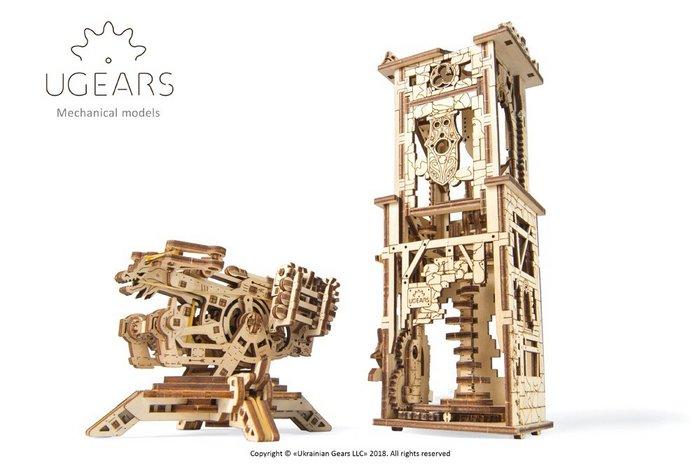 Maqueta modelo torre ballesta