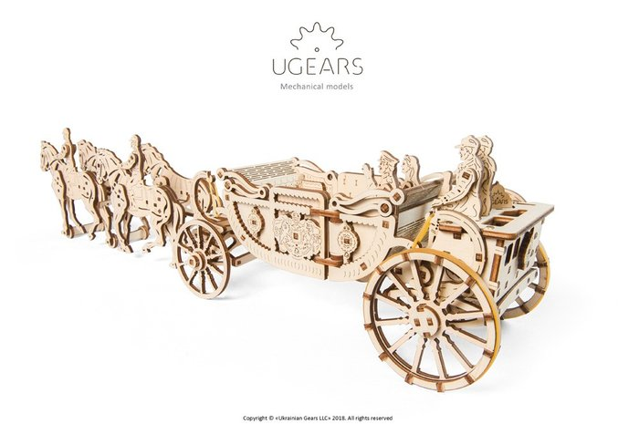 Maqueta model royal carriage (limited edition)