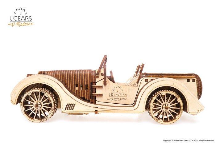 Maqueta modelo roadster