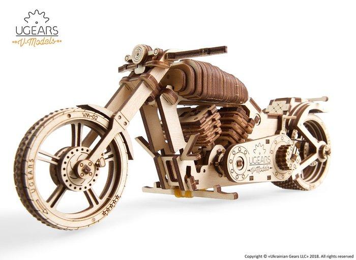 Maqueta modelo moto