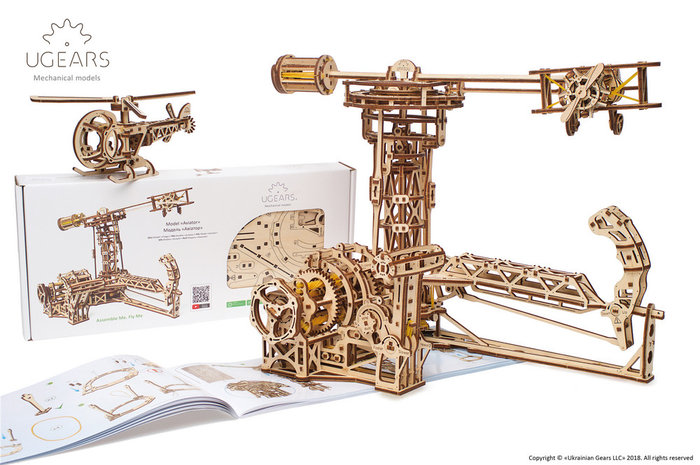 Maqueta model aviator