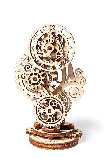 Maqueta model steampunk clock