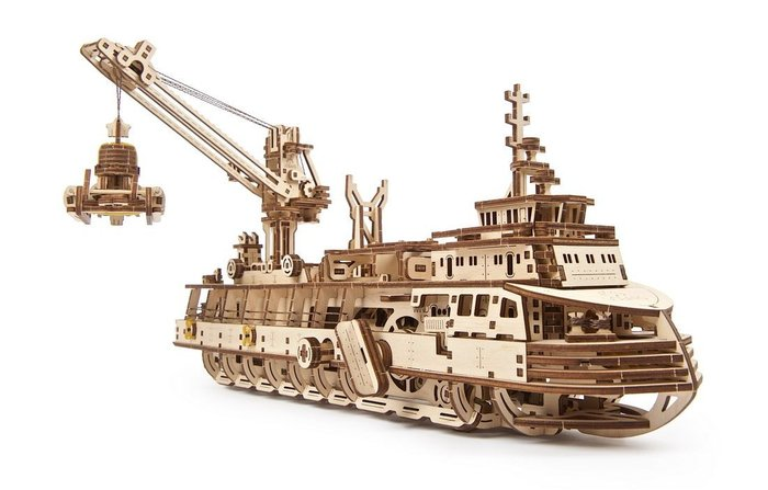 Modelo buque de investigacion