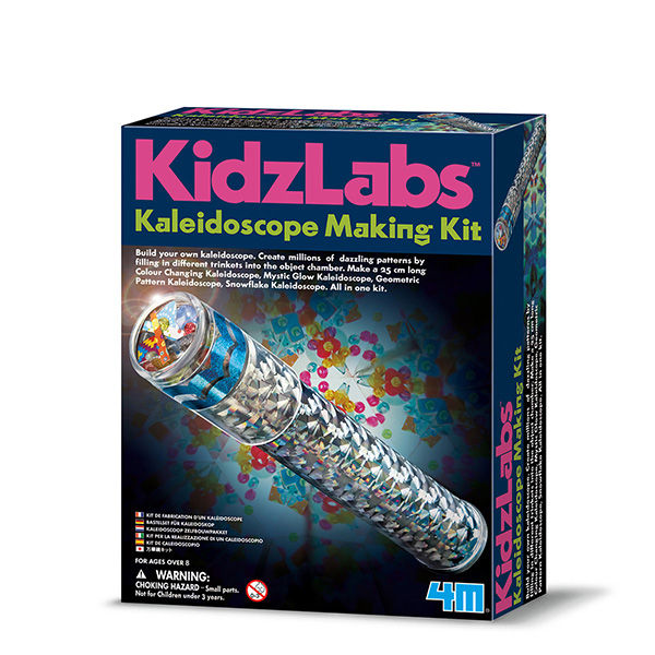 Juego 4m kidz labs kaleidoscope making kit