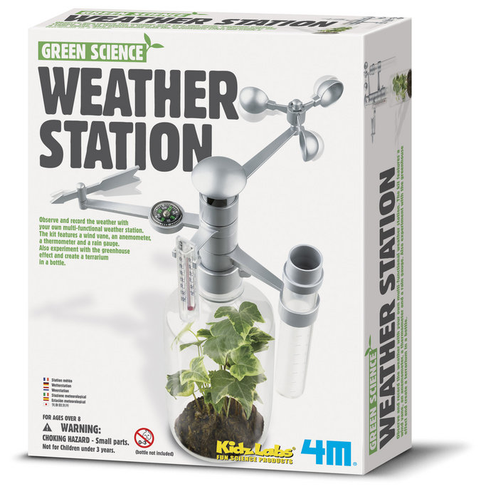 Juego 4m green science weather station