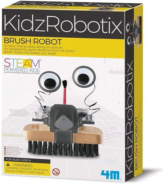 Juego 4m fun mechanic brush robot