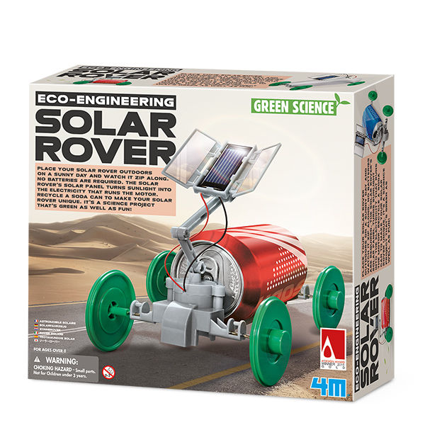Juego 4m green science solar rover