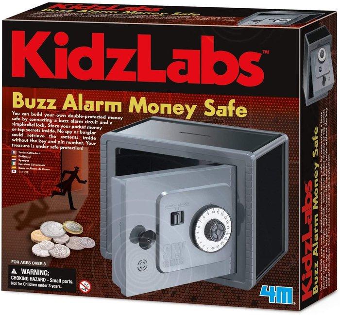 Juego kidz labs buzz alarm dinero seguro