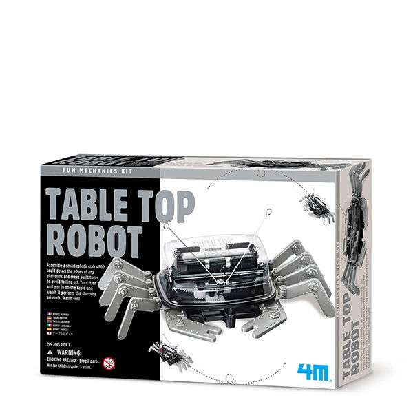 Juego 4m fun mechanic table top robot