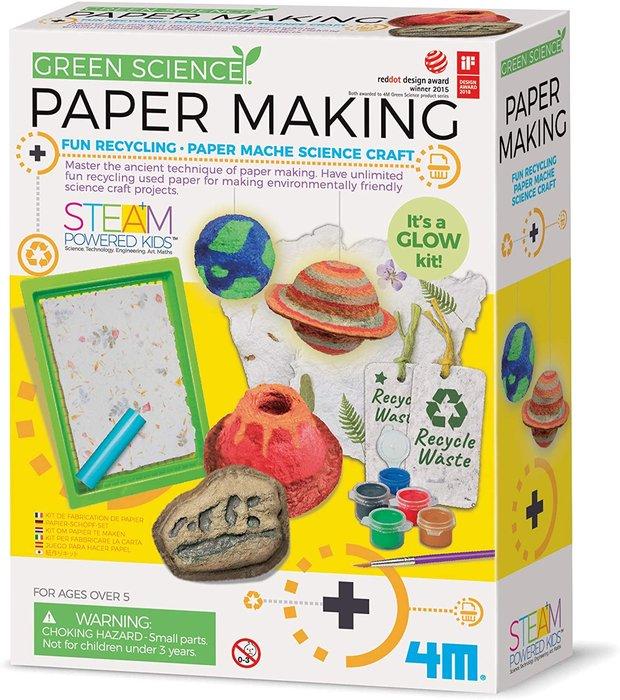 Juego green science fabrica de papel