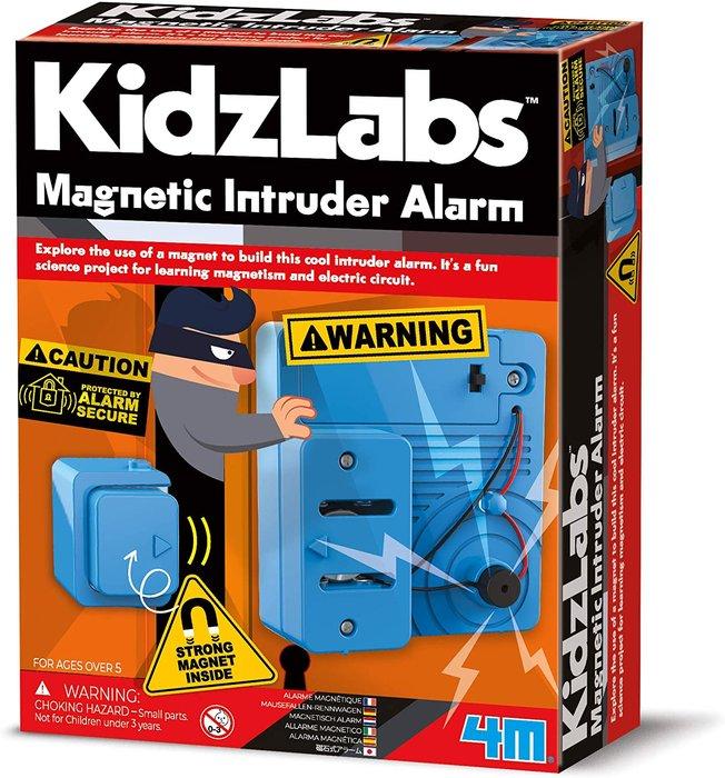 Juego kidzlabs alarma magnetica para intrusos