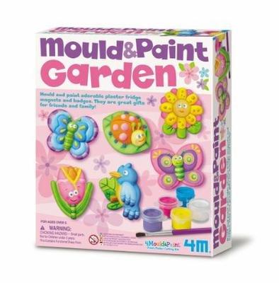 Juego 4m moldear y pintar jardines arte con pintura