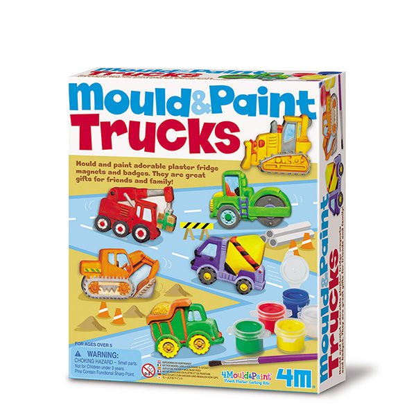 Juego 4m mould & paint trucks