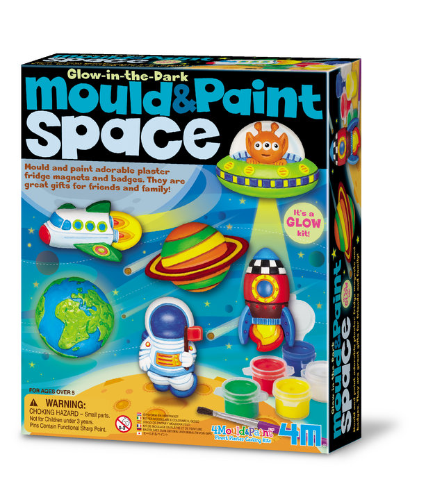 Juego mould & paint glow space