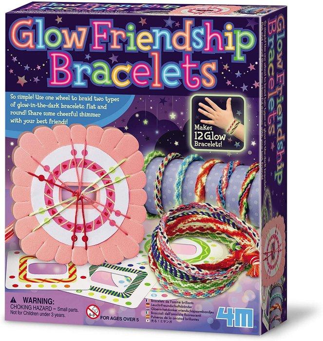 Juego glow pulseras de la amistad