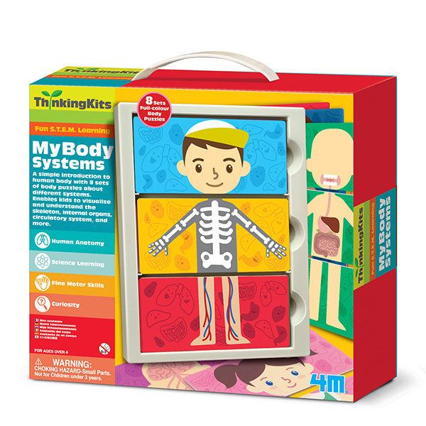 Juego thinking kits el cuerpo humano