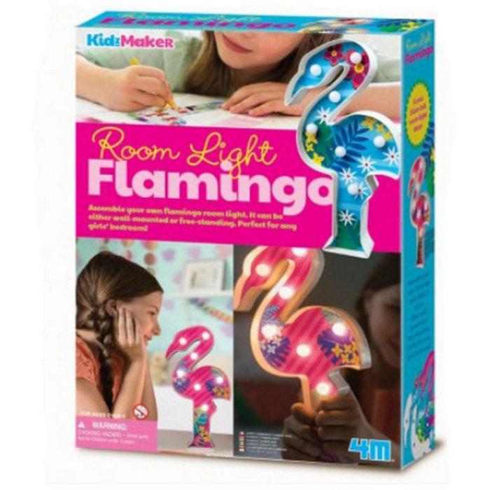 Juego 4m set creativo luz de mesa flamenco