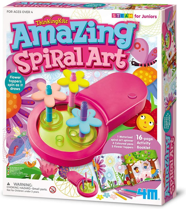 Juego thinkingkits amazing spiral art