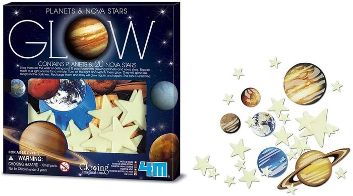 Juego super nova 20pcs planetas de papel multicolor
