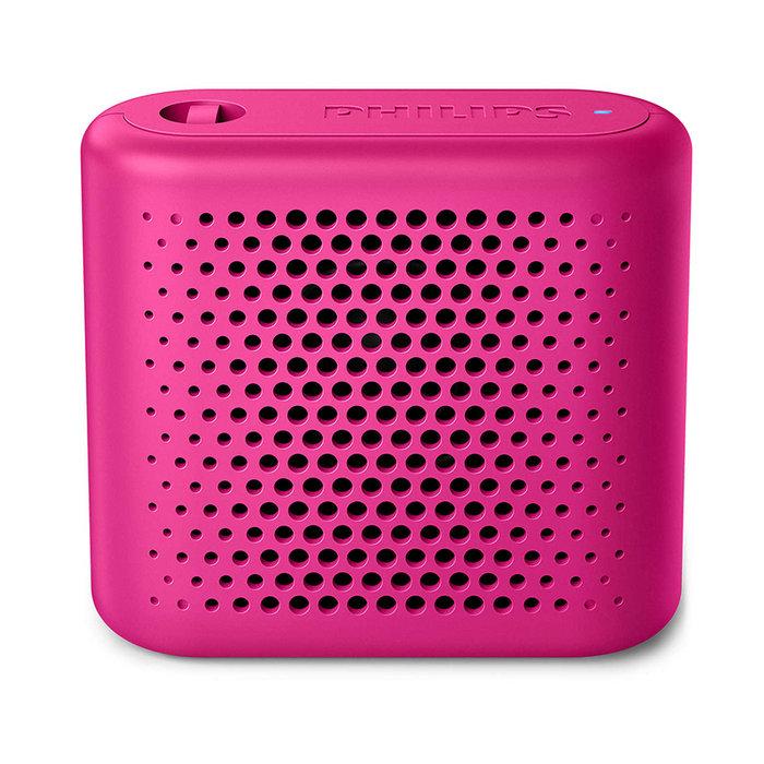 Altavoz bluetooth portatil philips bt55p rosa