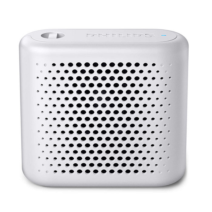 Altavoz bluetooth portatil philips bt55w blanco