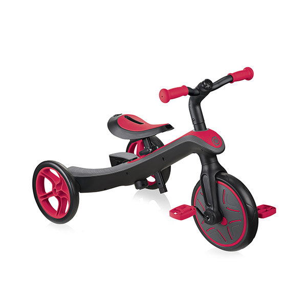 Bicicleta evolutiva trike explorer 2 en 1 rojo