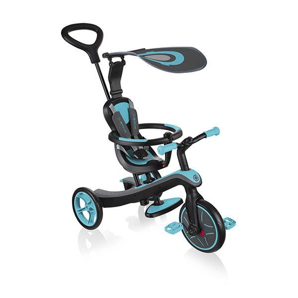 Triciclo evolutivo trike explorer 4 en 1 verde azulado